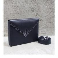Box Clutch Classic Black