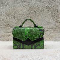 TKO Mini Green Snake Print