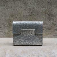 Ice Clutch Silver Grey Venetian