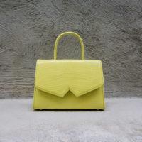 Alpha Classic Lemon Crocodile print