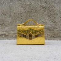TKO Mini Metallic Gold Calf Leather