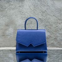 Alpha Classic Royal Blue Leather