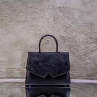 Alpha Classic Black Calf Hide Leather