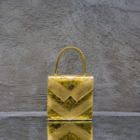Cash Madam Gold Leather