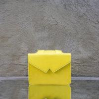 Waist Belt Bag Yellow Goat Skin