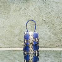 Alpha Mini Egyptian Blue Python Print