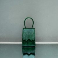 Alpha Mini Dark Green Ayers Snake Skin