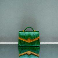 TKO Mini Emerald Green Ayers Snake Skin Yellow Ayers Skin Insert