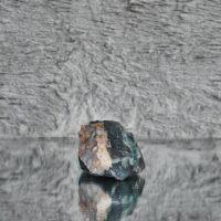 Rough Cut Fluorite With Clear Quartz Crystal