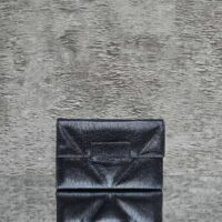 Ice Clutch Classic Distressed Navy Blue Calf Skin