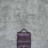 TKO Mini Metallic Grape Purple Calf Skin